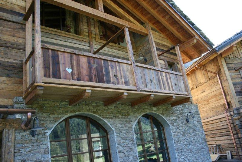 Rivestimenti esterni in legno